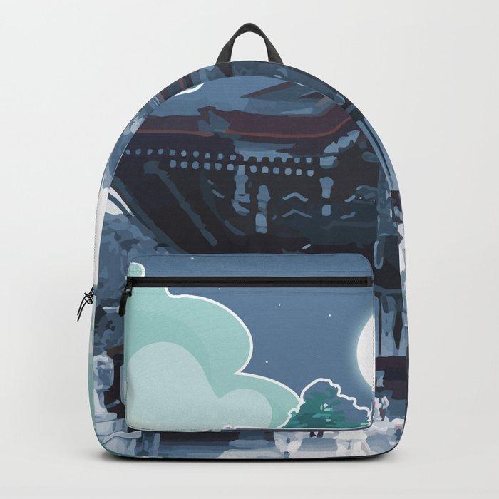 Night in Japan Backpack