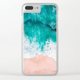 Ocean adventures -drone Clear iPhone Case