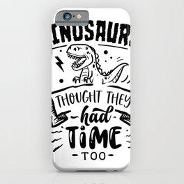 Green Future - Dinosaur iPhone Case