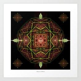DMT Orb Art Print