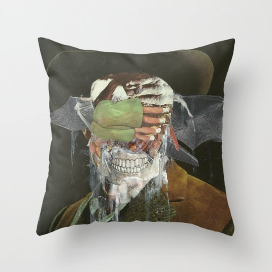 Leave me no choice but to plot my revenge  Throw Pillow