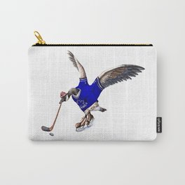 Canada Goose Playing Hockey Carry-All Pouch