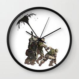 Liberation Wall Clock