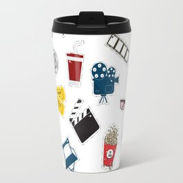 Cinema movie pattern Travel Mug