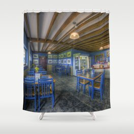 Coffee Cafe Shower Curtain