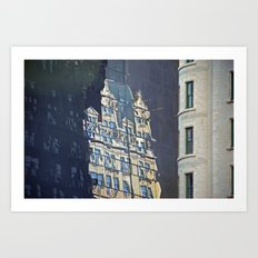 Ghost Building, NYC Art Print