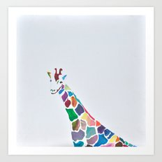 Show Your Real Spots - Giraffe Art Print