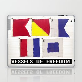 Boat Flags - Vessels of Freedom Laptop & iPad Skin