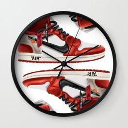 OFF Js Wall Clock