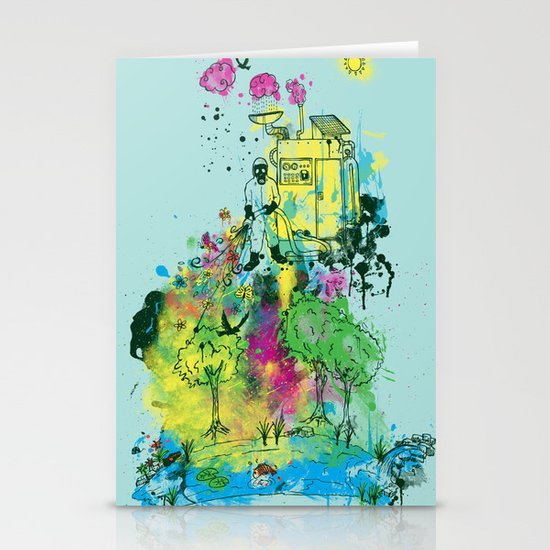 Ecosystem Stationery Cards