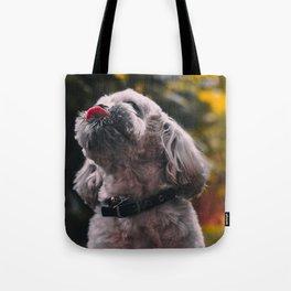 Dog by Mathilda Khoo Tote Bag
