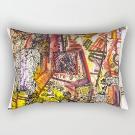 Creation through time Rectangular Pillow