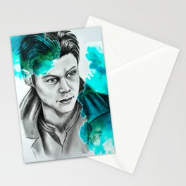 Harry Styles soldier drawing Stationery Cards