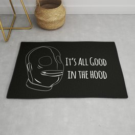 All Good In The Hood - BDSM Funny Rug