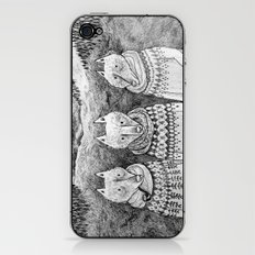 Icelandic foxes iPhone & iPod Skin