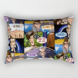 New Who Rectangular Pillow