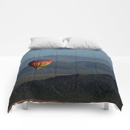 Hot Air Balloon over Arizona Morning Comforters
