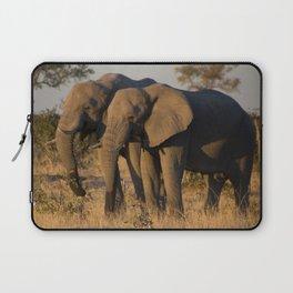 Elephant Pair Laptop Sleeve