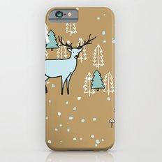 Scandinavian reindeer iPhone 6s Slim Case