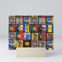 Portuguese art collection Mini Art Print