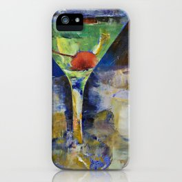 Summer Breeze Martini iPhone Case