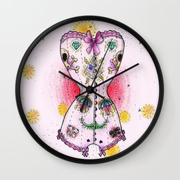 Corset Wall Clock