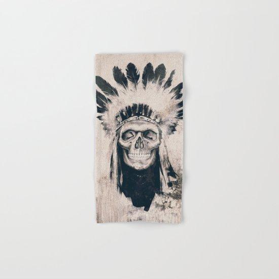 INDIAN SKULL Hand & Bath Towel