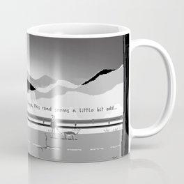 [Pixel] Me and my dog on a strange road Coffee Mug