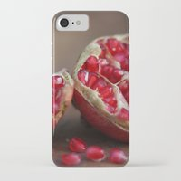 pomegranate iPhone & iPod Cases featuring pomegranate by Life Through the Lens