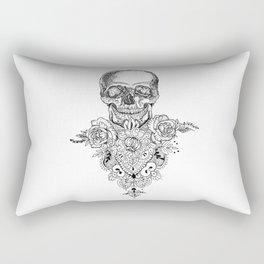 Sceleton Rectangular Pillow