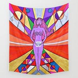 Sensual Sexuality Kaleidoscope Wall Tapestry