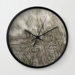 Turmoil Wall Clock