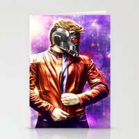starlord Stationery Cards featuring Guardians of the Galaxy - Starlord by p1xer