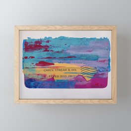 17 FEB 2015 Framed Mini Art Print