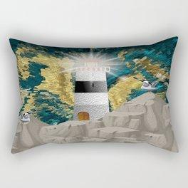 Calm In The Storm Rectangular Pillow