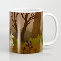 over the garden wall Mugs featuring Over The Garden Wall by FuliFuli