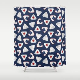 Onigiri (おにぎり) Shower Curtain