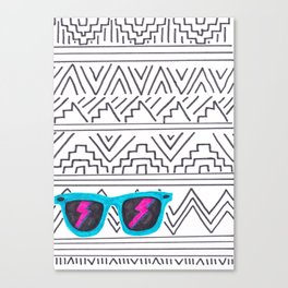 Aztec Wayfarer Canvas Print