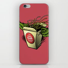 The Flying Noodle Takeaway Company iPhone Skin