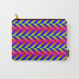 Zig Zag Folding Carry-All Pouch