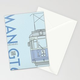 Trams of the World - Cracov Stationery Cards