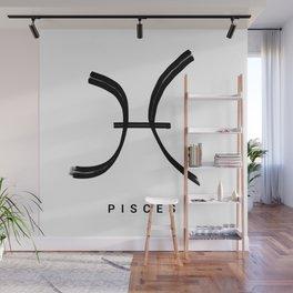KIROVAIR ASTROLOGICAL SIGNS PISCES #astrology #kirovair #symbol #minimalism #home #decor Wall Mural