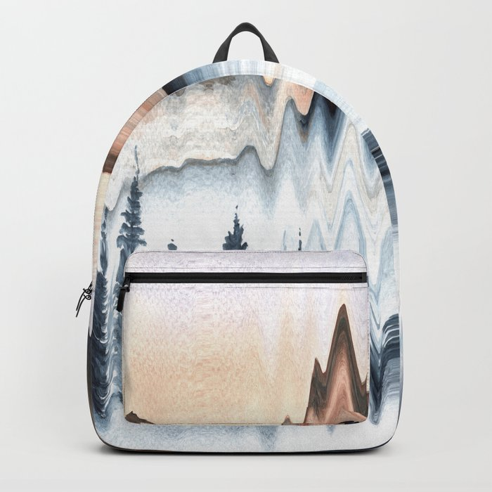 A Mountain in Winter Backpack
