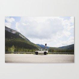 Exploring Alberta Canvas Print