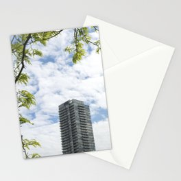 Modern building in Toronto Canada Stationery Cards