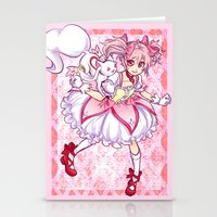 madoka Stationery Cards featuring Madoka by Alyssa Tye