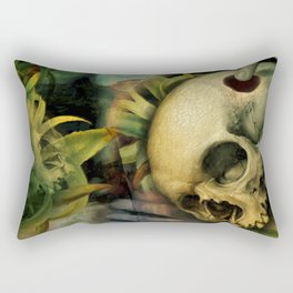 Trepanation (Skull) Rectangular Pillow