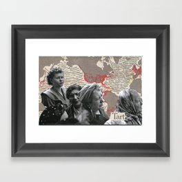 tart Framed Art Print