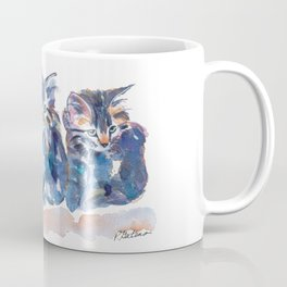 Crazy Quilt Kittens Coffee Mug