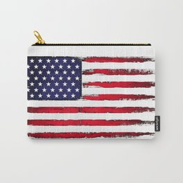 Vintage American flag Carry-All Pouch